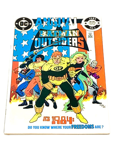 BATMAN & THE OUTSIDERS ANNUAL #1. VFN- CONDITION