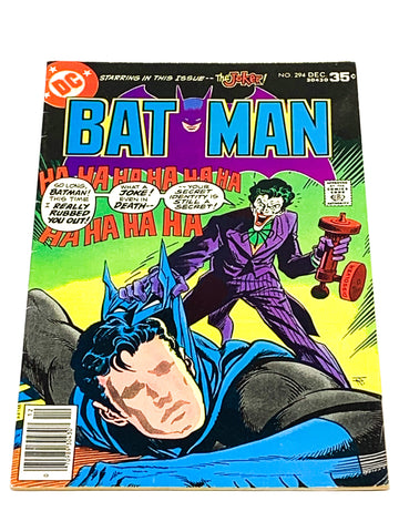 BATMAN #294. FN CONDITION