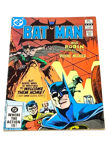 BATMAN #348. VG CONDITION