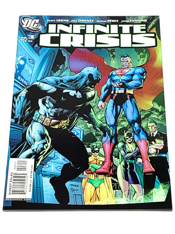 INFINITE CRISIS #3. NM CONDITION.