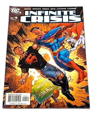 INFINITE CRISIS #4. NM CONDITION.