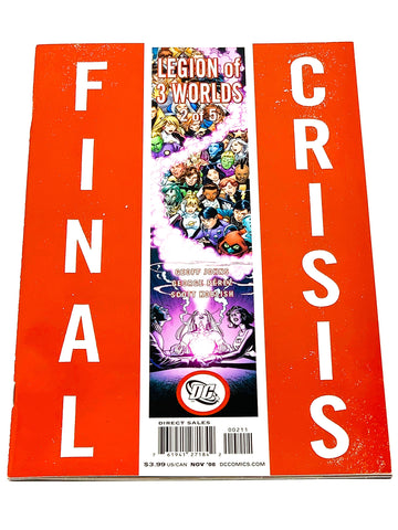 FINAL CRISIS LEGION OF THREE WORLDS #2. NM CONDITION.