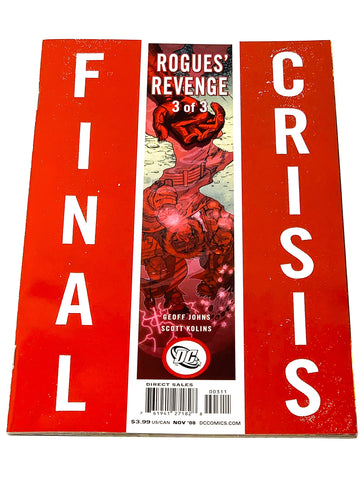 FINAL CRISIS ROGUES REVENGE #3. NM CONDITION.