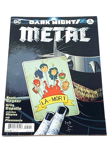 DARK NIGHTS METAL #5. NM CONDITION.