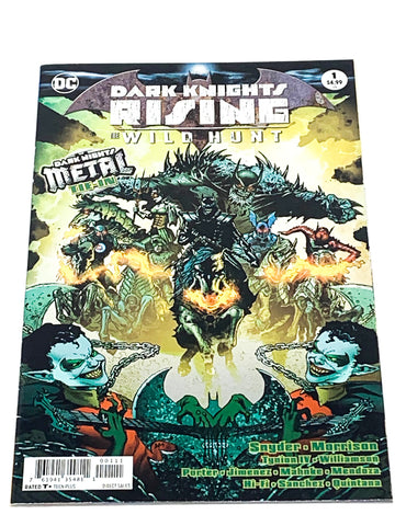 DARK NIGHTS RISING THE WILD HUNT #1. NM CONDITION.