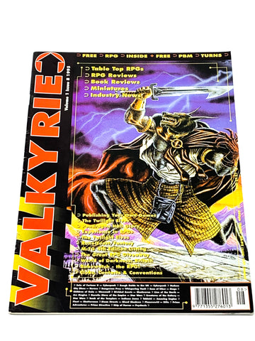 VALKYRIE MAGAZINE #8. FN CONDITION. PARTISAN PRESS.