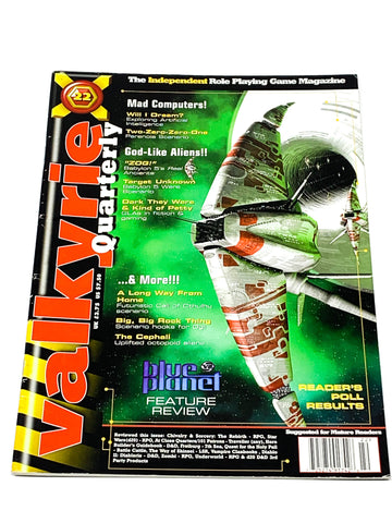 VALKYRIE MAGAZINE #22. FN CONDITION. PARTISAN PRESS.