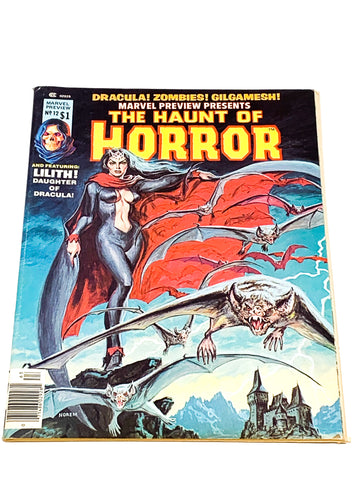 MARVEL PREVIEW MAGAZINE #12. HAUNT OF HORROR. VFN- CONDITION