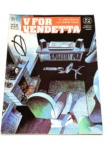 V FOR VENDETTA #2. FN CONDITION
