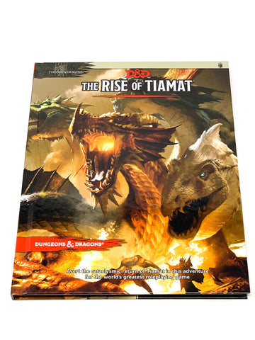 D&D 5TH ED. THE RISE OF TIAMAT H/C. NM CONDITION.