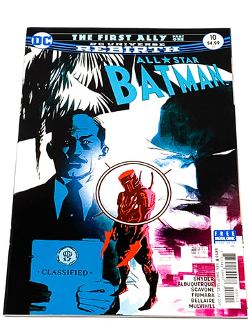 ALL STAR BATMAN #10. NM CONDITION.