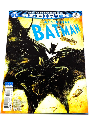 ALL STAR BATMAN #14. VARIANT COVER. NM CONDITION.