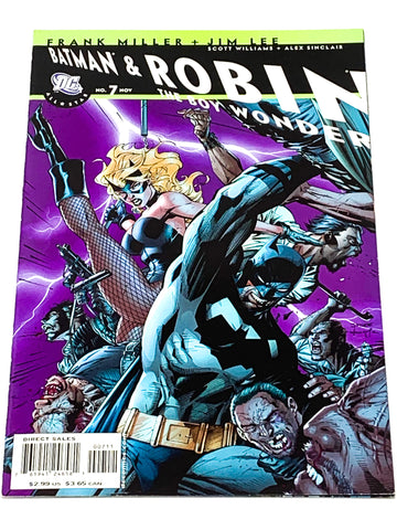 BATMAN & ROBIN THE BOY WONDER #7. NM CONDITION.