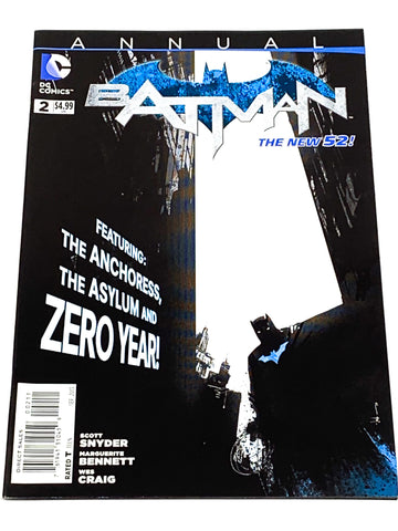 BATMAN ANNUAL #2. NEW 52! NM CONDITION