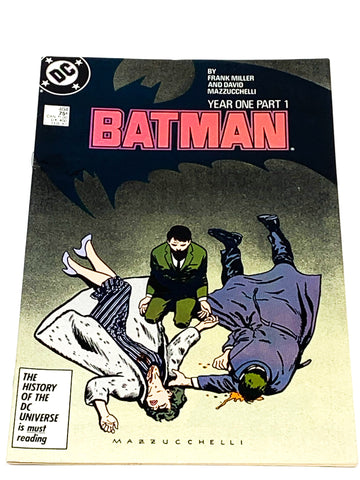 BATMAN #404. YEAR ONE - PART 1. VFN CONDITION