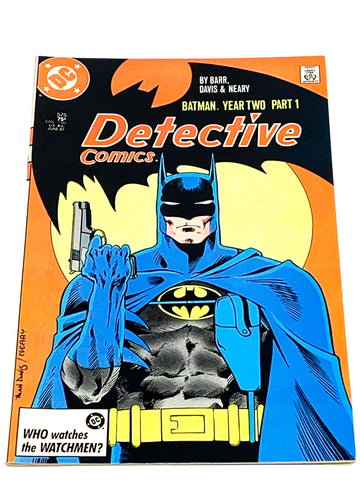 DETECTIVE COMICS #575. YEAR TWO PART 1. VFN CONDITION.