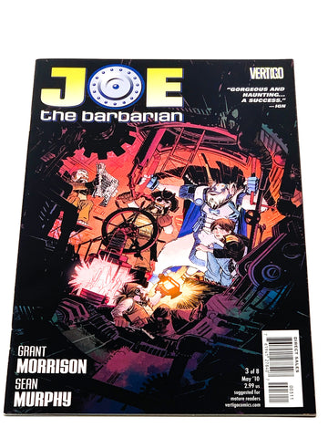 JOE THE BARBARIAN #3. NM CONDITION.