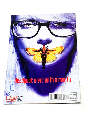 DEADPOOL - MERC WITH A MOUTH #13. NM- CONDITION.