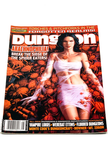 DUNGEON MAGAZINE #137. VFN- CONDITION.