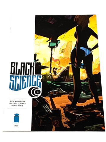BLACK SCIENCE #4. NM CONDITION.