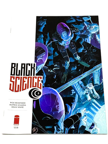 BLACK SCIENCE #5. NM CONDITION.