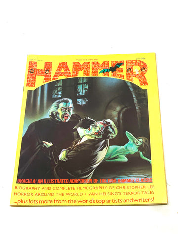 HOUSE OF HAMMER MAGAZINE #1. FN CONDITION.