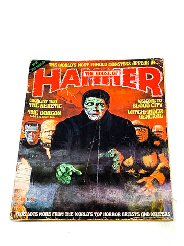 HOUSE OF HAMMER MAGAZINE #12. GD CONDITION.