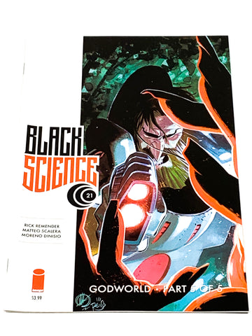 BLACK SCIENCE #21. NM CONDITION.