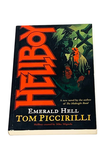 HELLBOY - EMERALD HELL BY TOM PICCIRILLI.  NM- CONDITION.