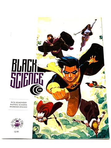 BLACK SCIENCE #28. NM CONDITION.