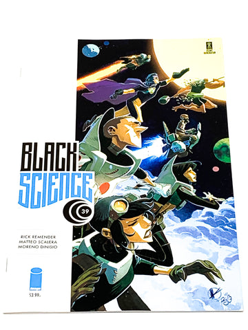 BLACK SCIENCE #39. NM CONDITION.