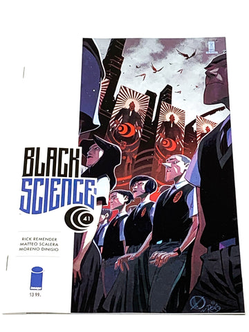 BLACK SCIENCE #41. NM CONDITION.