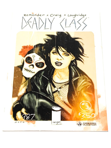 DEADLY CLASS #1. FORBIDDEN PLANET VARIANT. NM CONDITION.