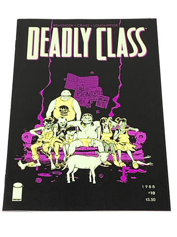 DEADLY CLASS #10. NM CONDITION.