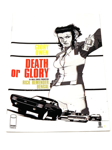 DEATH OR GLORY #3. NM CONDITION.