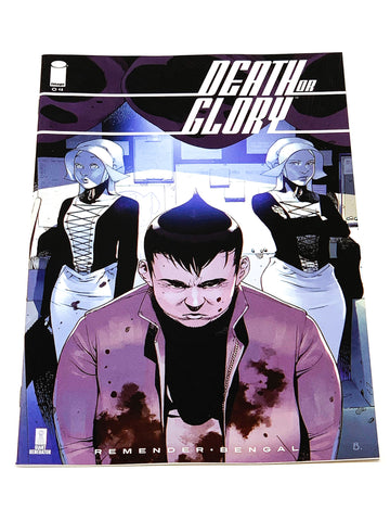DEATH OR GLORY #4. NM CONDITION.