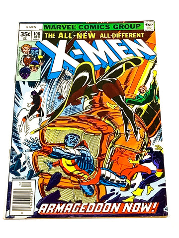 UNCANNY X-MEN #108. FN+ CONDITION.