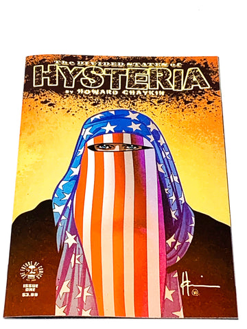 DIVIDED STATES OF HYSTERIA #1. NM CONDITION.
