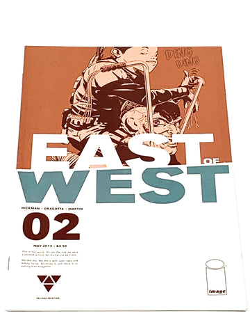 EAST OF WEST #2. NM CONDITION.