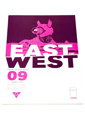 EAST OF WEST #9. NM CONDITION.
