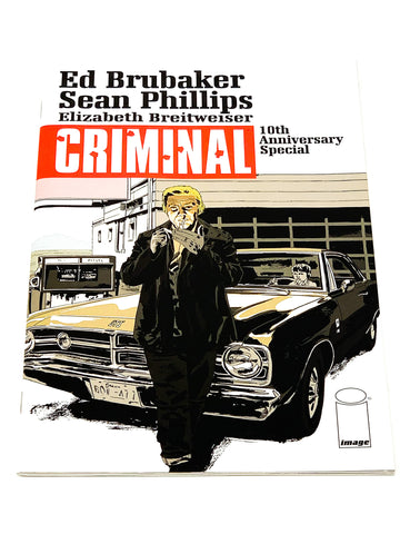 CRIMINAL 10TH ANNIVERSARY SPECIAL #1. NM CONDITION.