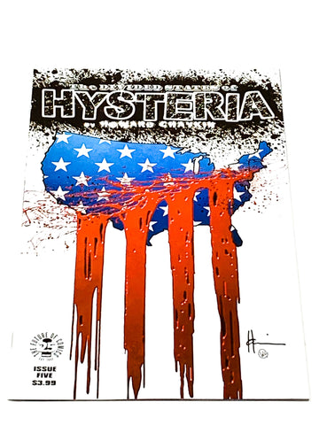 DIVIDED STATES OF HYSTERIA #5. NM CONDITION.