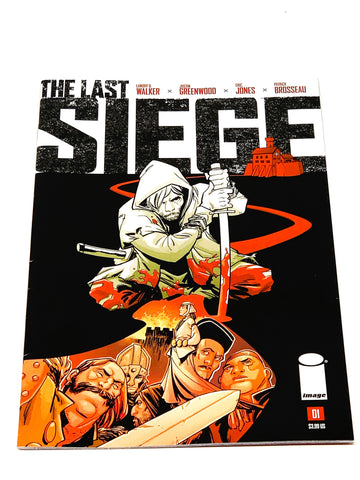 THE LAST SIEGE #1. NM CONDITION.