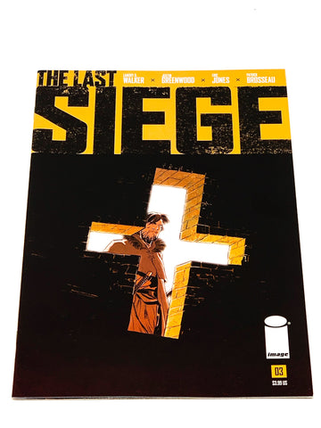 THE LAST SIEGE #3. NM CONDITION.