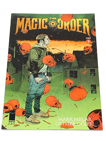 THE MAGIC ORDER #4. NM CONDITION.