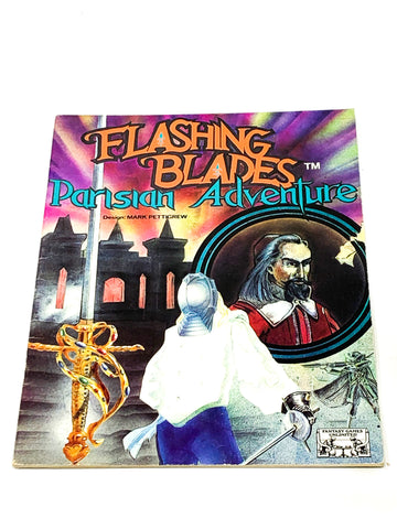 FLASHING BLADES RPG - PARISIAN ADVENTURE. FN- CONDITION