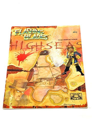 FLASHING BLADES RPG - HIGH SEAS. FN- CONDITION