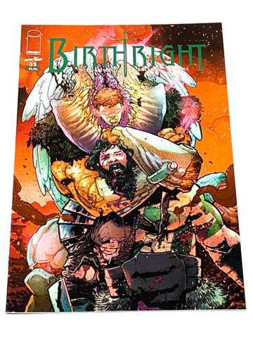 BIRTHRIGHT #35. NM CONDITION.