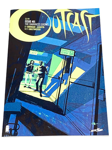OUTCAST #40. NM CONDITION.