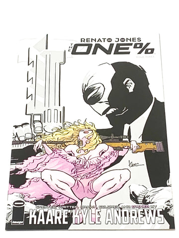 RENATO JONES - THE ONE% #3. NM CONDITION.